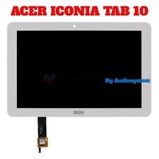 DISPLAY LCD+ TOUCH SCREEN PER ACER ICONIA TAB 10 A3-A20 BIANCO VETRO NUOVO
