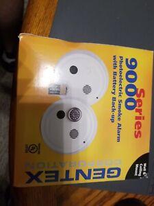 GENTEX 9000 Photoelectric Smoke Alarm Detector w Battery Backup Model 9120 917