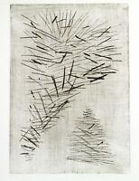 """""""Zweige"""", 1960. Aquatinta-Radierung Ernst GEITLINGER (1895-1972 D), handsigniert"""