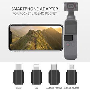 Smartphone-Adapter F DJI Pocket 2 Kamera USB-C Typ C Micro-Handy-Anschluss G7G2