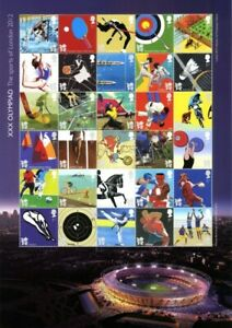 LS100   SHEET 2011 Olympic & Paralympic Games  MNH
