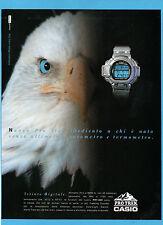 BELLEU999-PUBBLICITA'/ADVERTISING-1999- CASIO PRO TREK PRT-600