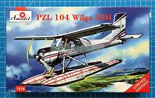 1/72 PZL 104 Wilga 35H Hydroplane (Amodel 7278)