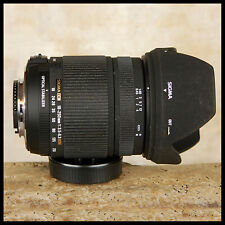 Nikon AF-S HSM Digital Sigma 18 250mm DC OS Zoom Optical Stabilizer FREE UK POST