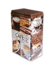 KAFFEEDOSE aus Metall luftdicht Blechdose Dose Kaffee Vorratsdose Aromadose 55