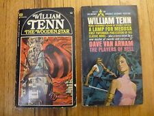 2 William Tenn Wooden Star & Lamp for Medusa with Players of Hell Dave Van Arnam