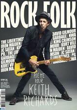KEITH RICHARDS - DAVID GILMOUR / PINK FLOYD - IRON MAIDEN - Rock & Folk - 2015