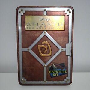 Disney's Atlantis The Lost Empire Adventure Kit Rare Collectors Tin Disneyana