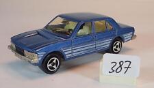 Majorette 1/60 Nr. 238 Peugeot 604 Limousine blaumetallic mit Streifen Nr.3 #387