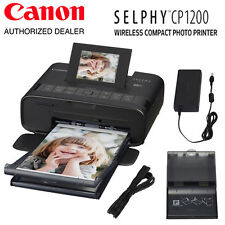 Canon SELPHY CP1200 Wireless Compact Photo Printer (Black) - #0599C001