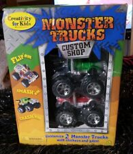 Creativity for Kids Monster Truck Custom Shop - (2 Custom Monster Trucks) New!