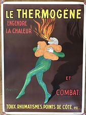Original vintage Capiello póster le thermogène