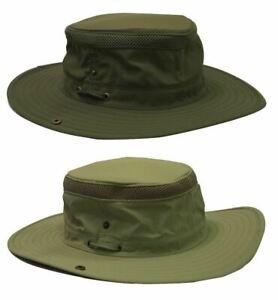 Waddington Wide Brim Travel Hat Water Repellent Packable Ventilated UPF Sun