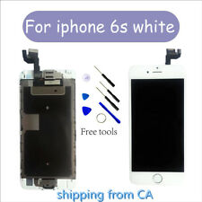"""For White iPhone 6S 4.7"""" Screen Digitizer Replacement with Camera+Homebutton CA"""