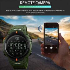 SKMEI Mens Waterproof Sport Wristwatch Alarm Date Analog LED Digital Wrist Watch