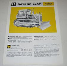 Technische Information Caterpillar Kettendozer D4D / D 4 D Stand März 1974!