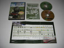 Microsoft Train Simulator PC CD ROM Original MSTS base jeu Libération-Rapide Post