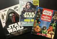 Star Wars Gift Pack Essential guide to characters / Secrets of Rogue One / The F