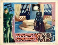 Devil Girl From Mars Lobby   Card #2    FINE   1955   11 x 14