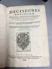 Decisiones Novissimae Supremi Eminentissimique, Castro, 1626, Maringo, Lisbon