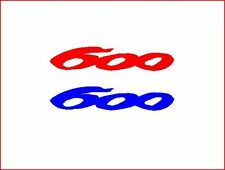 1 PAIR OF HONDA CBR 600- RACING STICKERS/DECALS/GRAPHICS