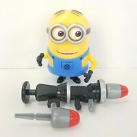 Despicable Me Minion Dave with Rocket Launcher Deluxe Figure Thinkway Toys