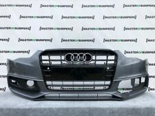 AUDI A5 S LINE S5 2012-2015 FRONT BUMPER IN GREY WITH GRILL GENUINE [A112]