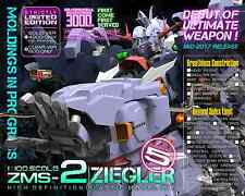 MECHANICORE 1/100 SCALE ZMS-2 ZIEGLER Gundam Solid Color model kit Zeong MSN02