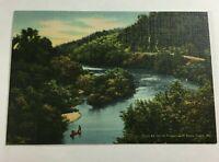 """VTG 1930s Mini Photographs Souvenir Pictures 3X2""""Missouri Ozarks Indian Creek"""