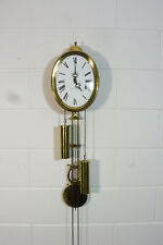 Comtoise Wall Clock Dutch Movement Vintage Old Clock