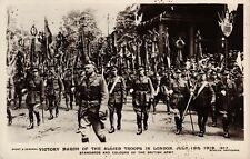Londres, WW 1, Victory March of the Allied aporten
