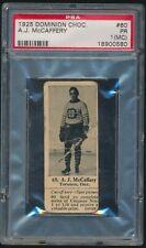 1924 V31 Dominion Chocolate ATHLETES #60 BERT McCAFFERY (Hockey) 1924 Olympics