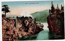 Antique 1908 POST FALLS Idaho ID Postcard