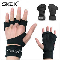 SKDK Weight Lifting Gloves Fitness Workout Gymnastics Grips Gym Wrist Band Palm
