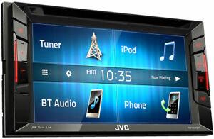 """JVC KW-V250BT 6.2"""" Double-Din Bluetooth DVD/CD/USB/MP3 Car Receiver AM/FM Radio"""