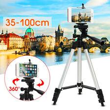 Professional Camera Tripod Stand Mount & Phone Holder & Bag Portable Universal