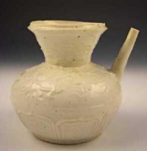 Song Dynasty Ding White Glazed Kendi Vase