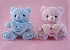 "8"" Baby Shower Pink It's a Girl! Teddy Bear Plush"