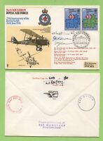 G.B. 1973 No 18 Squadron 'Berlin Airlift'  RAF Flown, signed & certified Cover