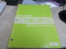 OEM Suzuki Service Manual (Ch1-9) 1984 LT230GE 99500-42020-01E