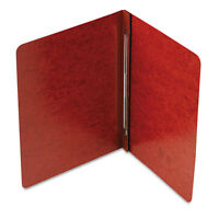 """Smead Side Opening Pressguard Report Cover, Prong Fastener, Letter, Red"""