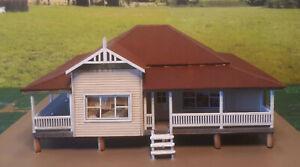 Duckworth Mansion Kit HO scale 1:87