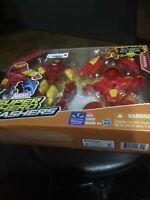 Marvel Super Hero Mashers Iron man mash-up w/ HULK BUSTER BIG PACK Playset