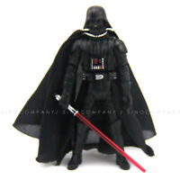 "3.75"" Star Wars 2005 Darth Vader & lightsaber Revenge Of The Sith ROTS toy"