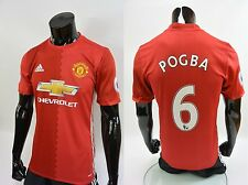 adidas Manchester United - Home Player Issue Shirt Patch 2016-17 Paul POGBA (M)