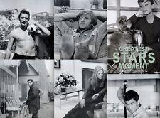Alain Delon,Catherine Deneuve,Bruce Lee,James Dean,Julie Andrews