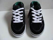 NEW VANS Ellis Black Skate Shoes Size 13 Sneakers Boys Youth Mid Top School NIB