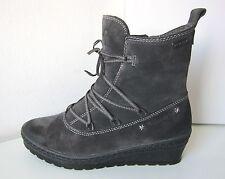 Keilabsatz Fellstiefel Stiefel warm grau  38 graphite Duo-Tex Tamaris Boots grey