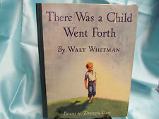 1943 1st EDITION THERE WAS A CHILD WENT FORTH WALT WHITMAN ZHENYA GAY