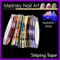 1mm Striping tape Nail Art Lines Manicure Stickers decoration Dispenser Tool